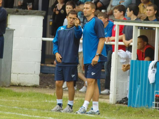 Paul Hurst and Rob Scott discuss tactics