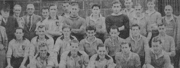 Boston United's Squad 1951/2