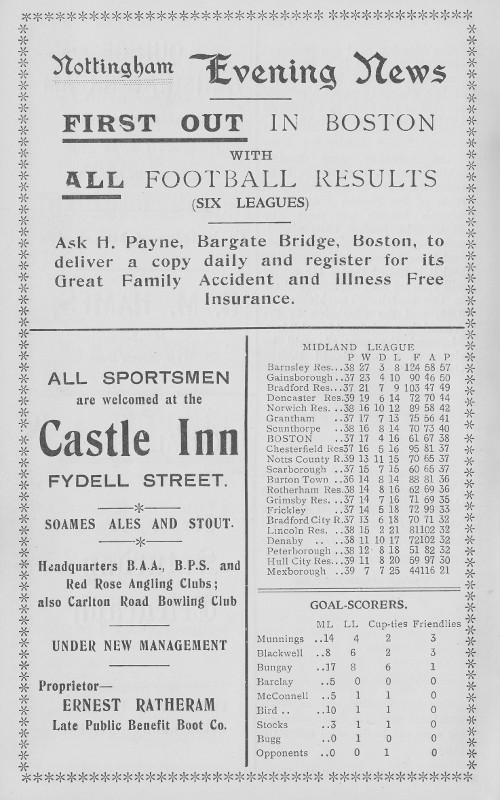 Programme Page 6 - 1935/6