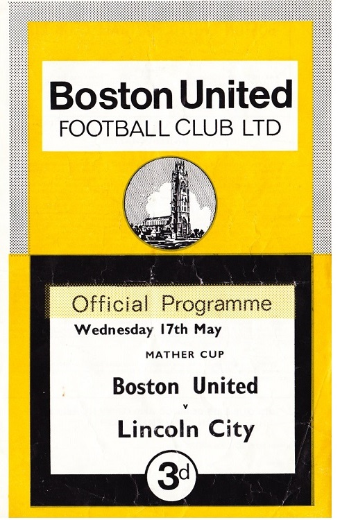 Programme Page 1 - 1966/7