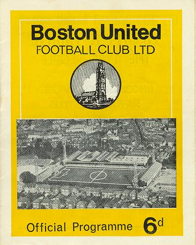 Programme Page 1 - 1968/9