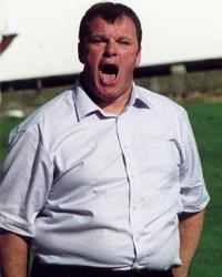 Steve Evans - outstanding in his field